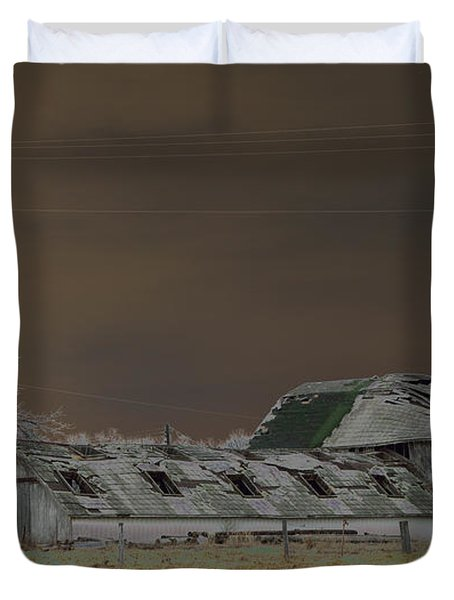 Winter Barns Duvet Cover by Alys Caviness-Gober
