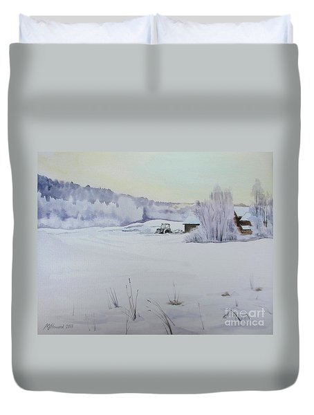 Winter Blanket Duvet Cover