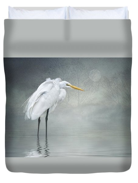 Winter Breeze Duvet Cover by Brian Tarr