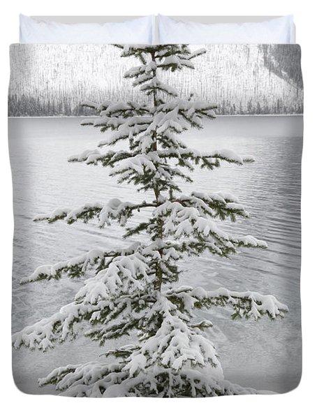 Winter Decor Duvet Cover