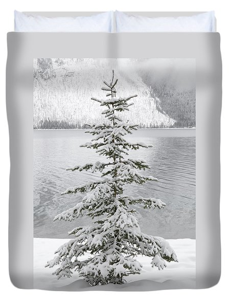 Winter Decor Duvet Cover