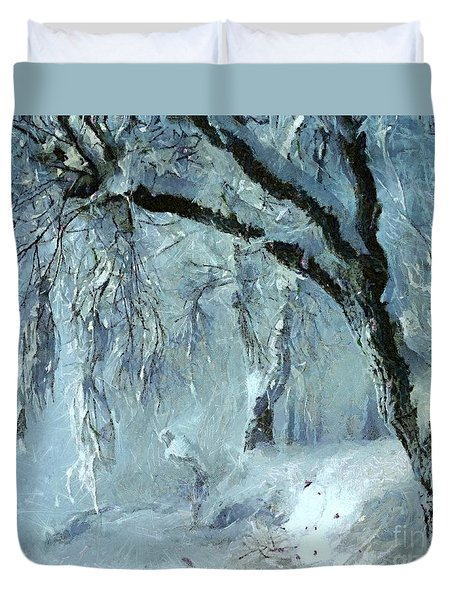 Winter Dreams Duvet Cover