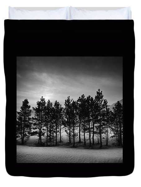 Winter Forest Duvet Cover by Frodi Brinks