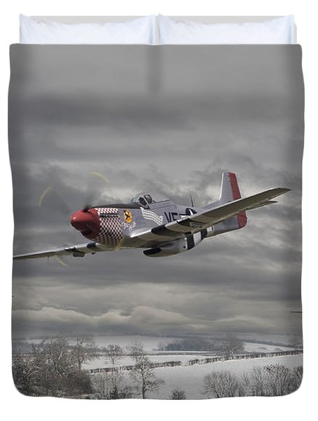 Winter Freedom Duvet Cover by Pat Speirs