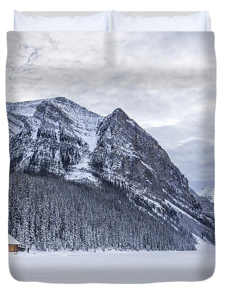 Winter Getaway Duvet Cover