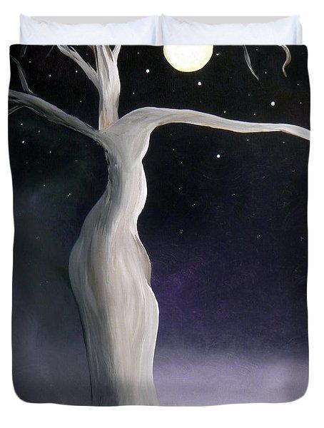 Winter Goddess Duvet Cover by Alys Caviness-Gober