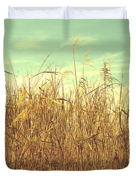 Winter Grass Duvet Cover
