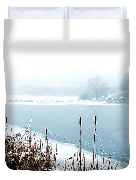 Winter Ice Duvet Cover