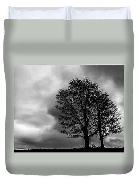 Winter Is Here Duvet Cover by Tim Buisman