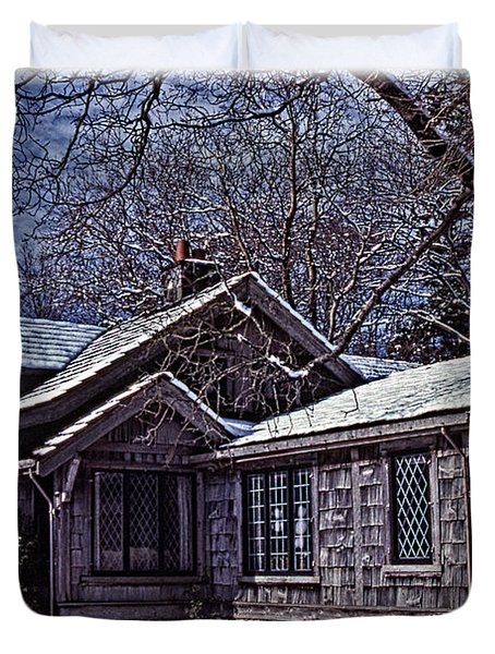Winter Lodge Duvet Cover