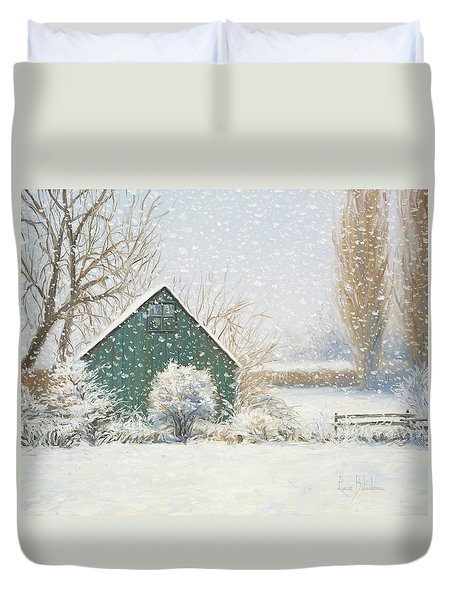 Winter Magic Duvet Cover