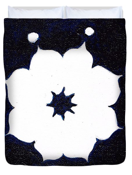 Winter Mandala Duvet Cover
