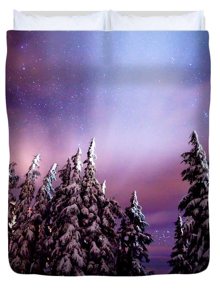 Winter Nights Duvet Cover