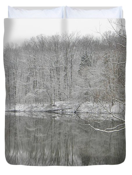 Winter Reflections 2 Duvet Cover