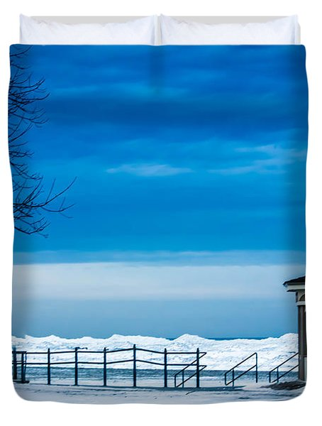 Winter Rhapsody Duvet Cover