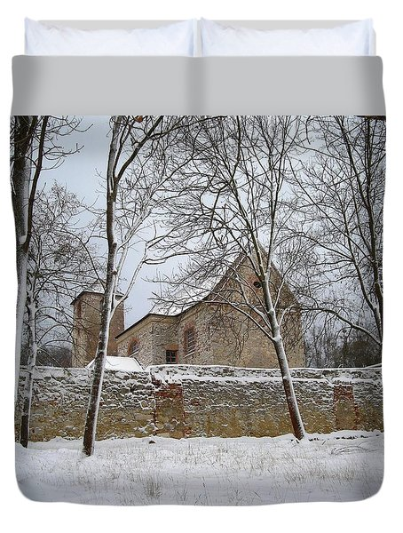 Old Monastery Duvet Cover