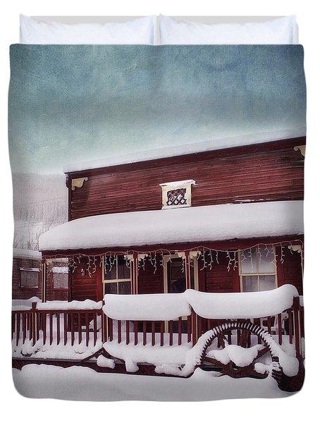 Winter Sleep Duvet Cover by Priska Wettstein