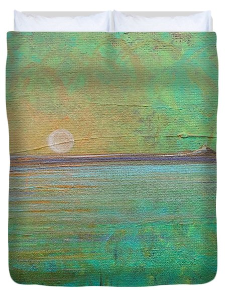Winter Solitude 7 Duvet Cover by Jacqueline Athmann