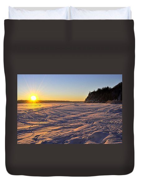 Winter Solstice Duvet Cover