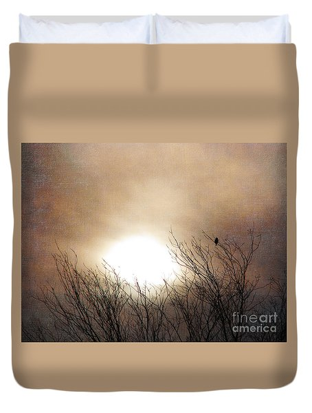 Winter Solstice Duvet Cover by Roselynne Broussard