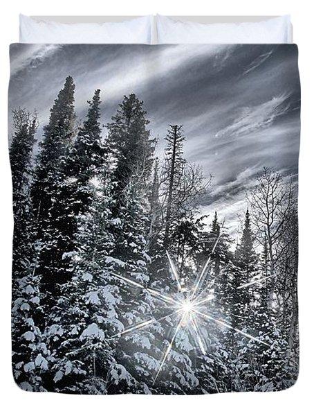 Winter Star Duvet Cover