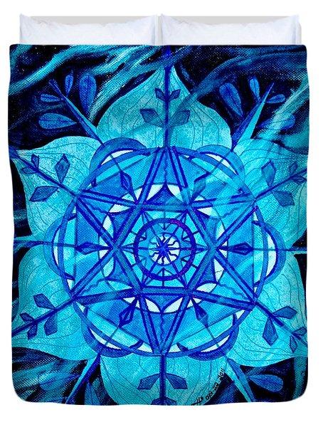 Winter Duvet Cover by Teal Eye  Print Store