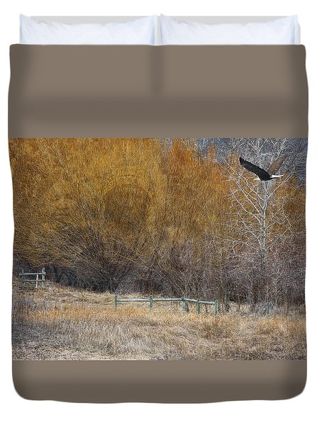 Winter Thaw Duvet Cover