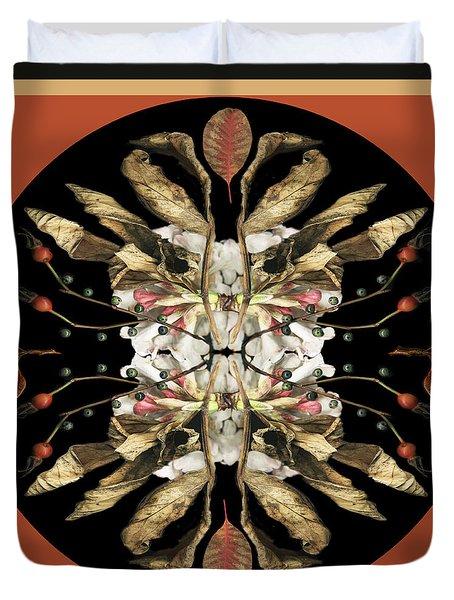 Winter Viburnum Duvet Cover