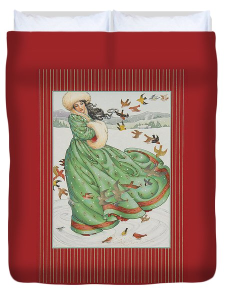 Winter Vogue Duvet Cover