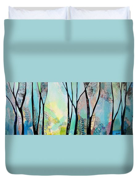 Winter Wanderings I Duvet Cover