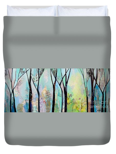 Winter Wanderings II Duvet Cover