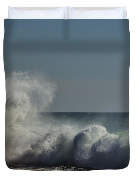 Winter Waves Duvet Cover