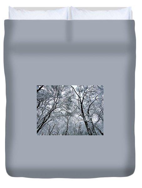 Winter Wonder Duvet Cover by Jeff Klingler