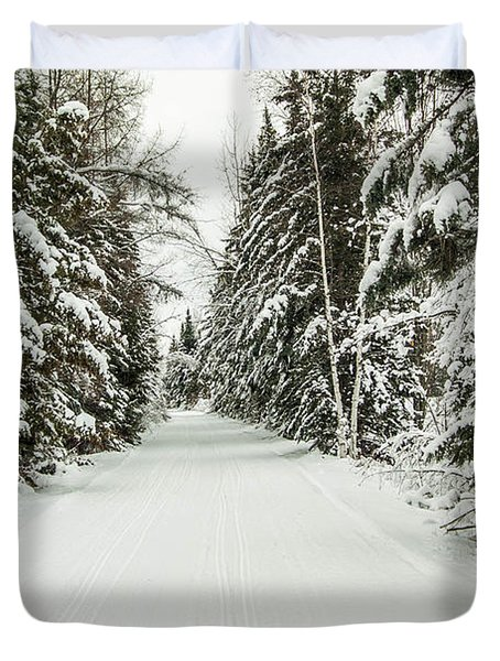 Winter Wonder Land Duvet Cover