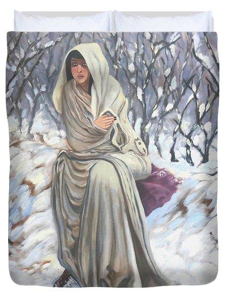Winter Wonderland Duvet Cover by Caroline Street