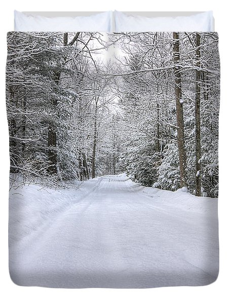 Winter Wonderland Duvet Cover by Donna Doherty