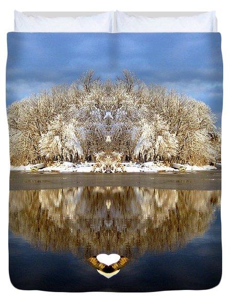 Winter Wonderland Love Duvet Cover