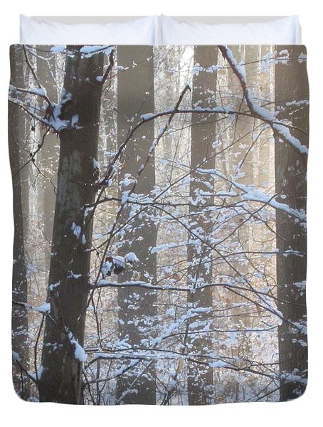 Winter Woodland Duvet Cover