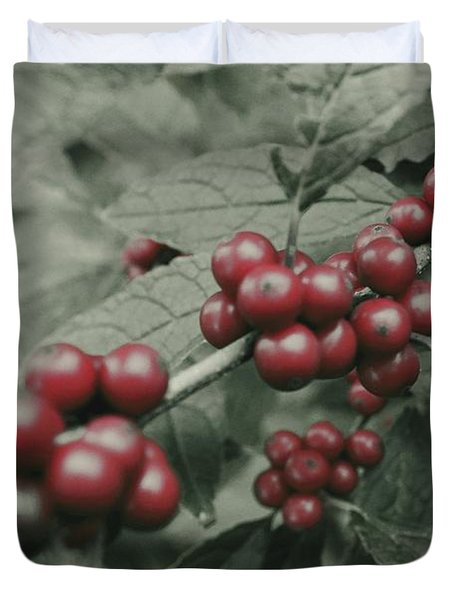 Winterberry Duvet Cover