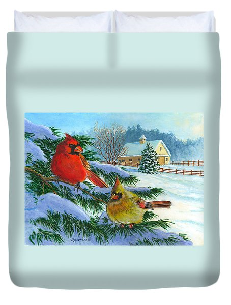 Winterlude Duvet Cover