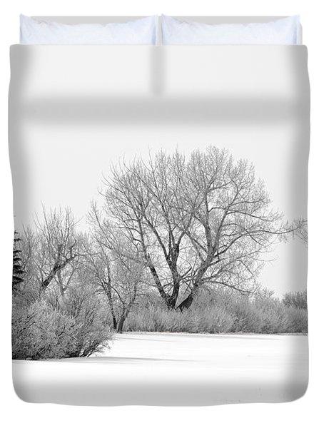 Winter's Cloak Duvet Cover