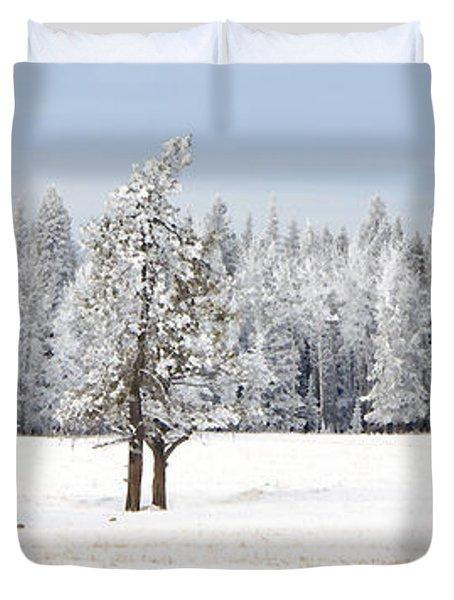 Winter's Coat Duvet Cover