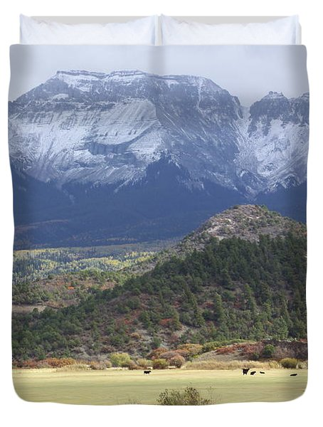 Winter's Coming Duvet Cover by Eric Glaser