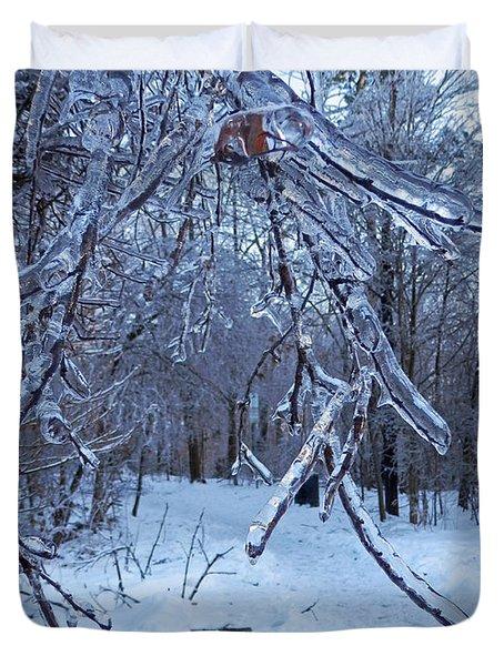Winter's Day Duvet Cover