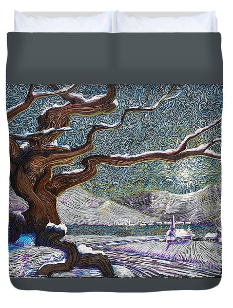 Winter's Day Duvet Cover