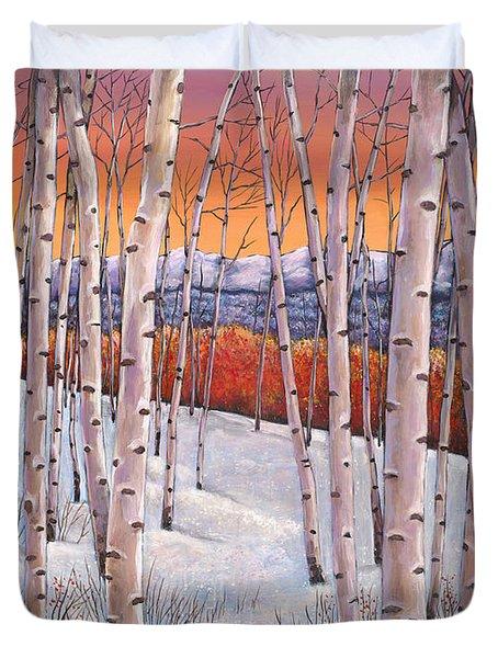 Winter's Dream Duvet Cover