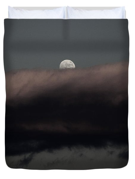 Winter's Moon Duvet Cover