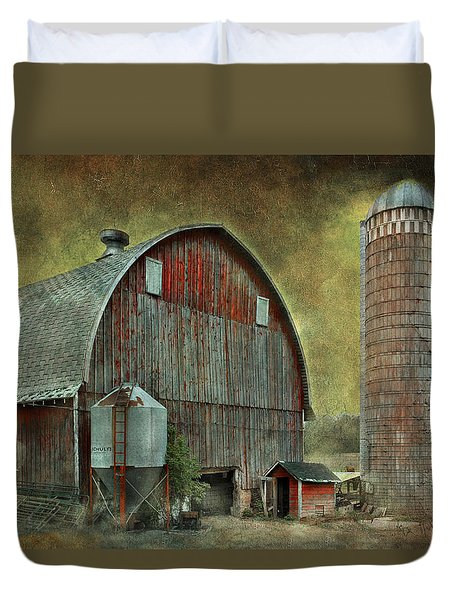 Wisconsin Barn - Series Duvet Cover