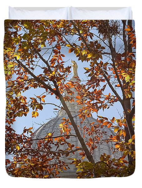 Wisconsin Capitol Duvet Cover
