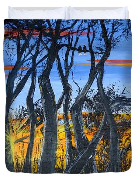 Wisconsin Creek Spooks Duvet Cover